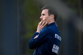 Unsicherheiten am Spieltag: KSC-Trainer Christian Eichner rechnete am Vormittag damit, dass seine Mannschaft  am Abend im Wildparkstadion gegen Würzburg antreten kann.