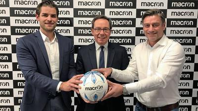 Macron wird Ausrüster des KSC.