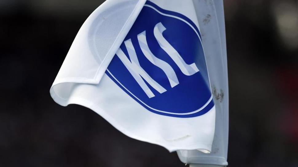 Fahne des Karlsruher SC