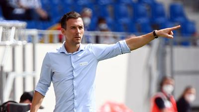 Trainer Christian Eichner.