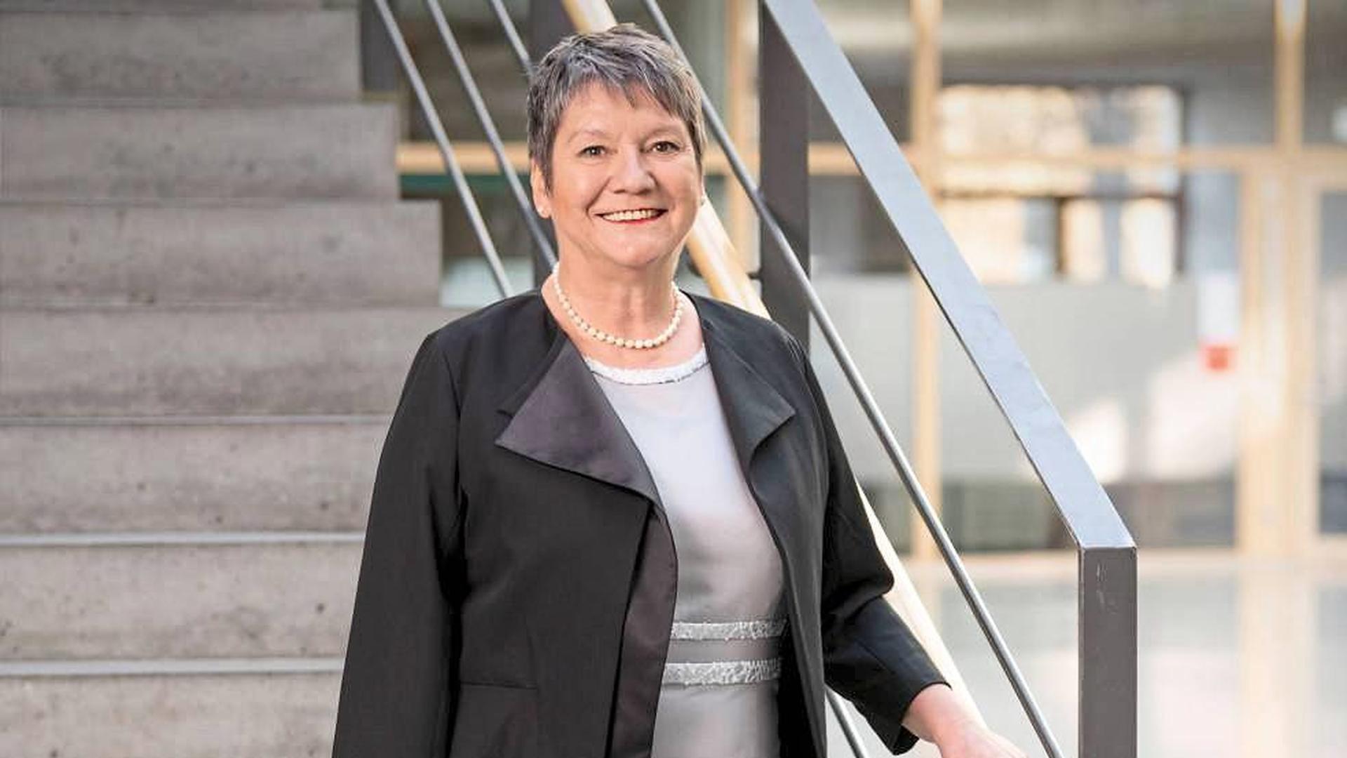 Viel zu tun in der Krise: Elvira Menzer-Haasis, Präsidentin des Landessportverbandes Baden-Württemberg, kämpft auf politischer Ebene für die Sportvereine.