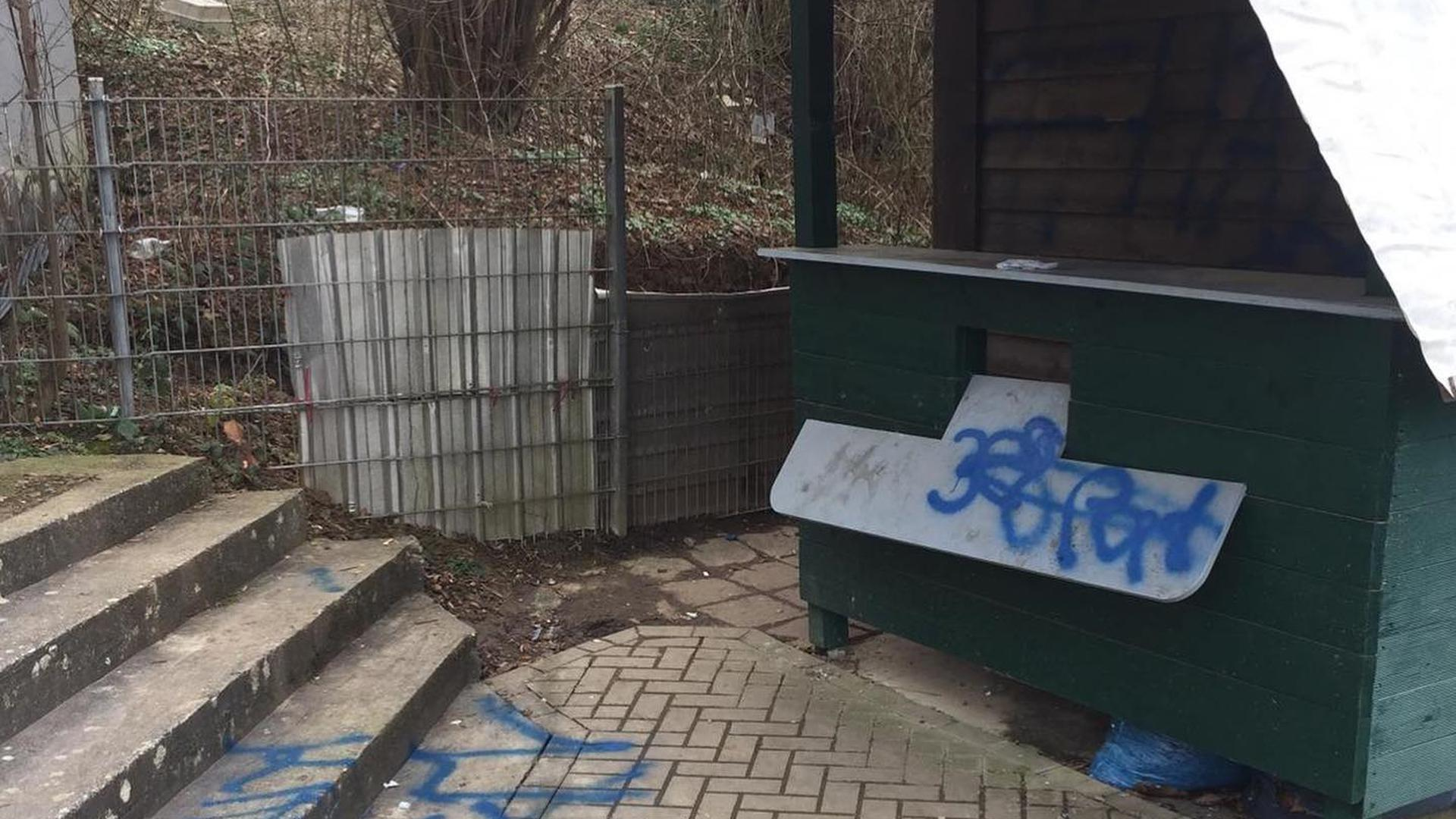 Bretten Kangaroos, Vandalismus