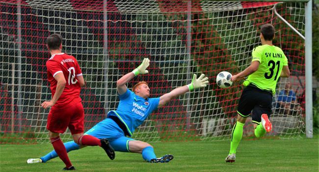 Torhüter Norman Riedinger wechselte vom Oberligisten SV Linx zum Bezirksligisten Spvgg Ottenau.