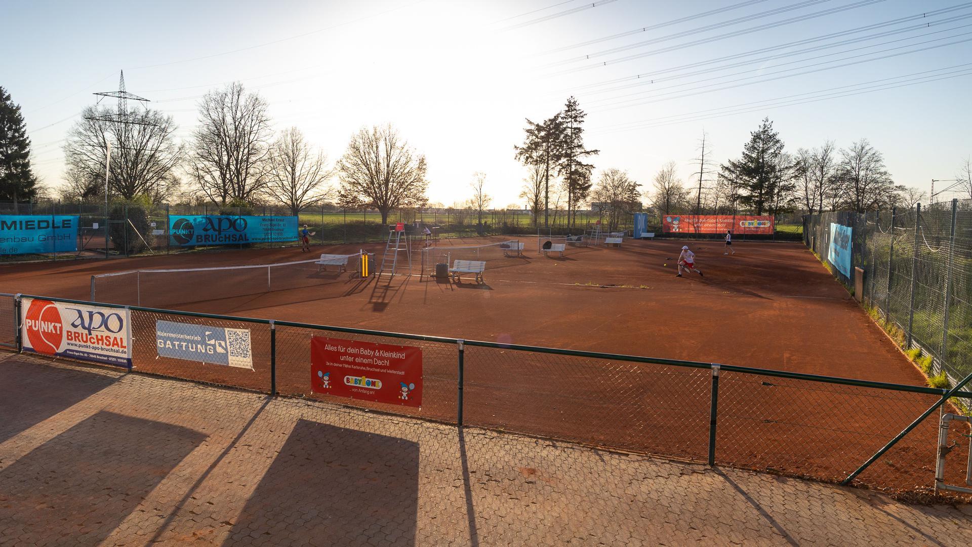Seit wenigen Tagen ist die Anlage der DJK Bruchsal wieder für den Trainingsbetrieb geöffnet
