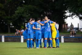 Einschwören auf die Saison: Der FC Östringen nimmt den nächsten Anlauf im Aufstiegskampf der Landesliga.