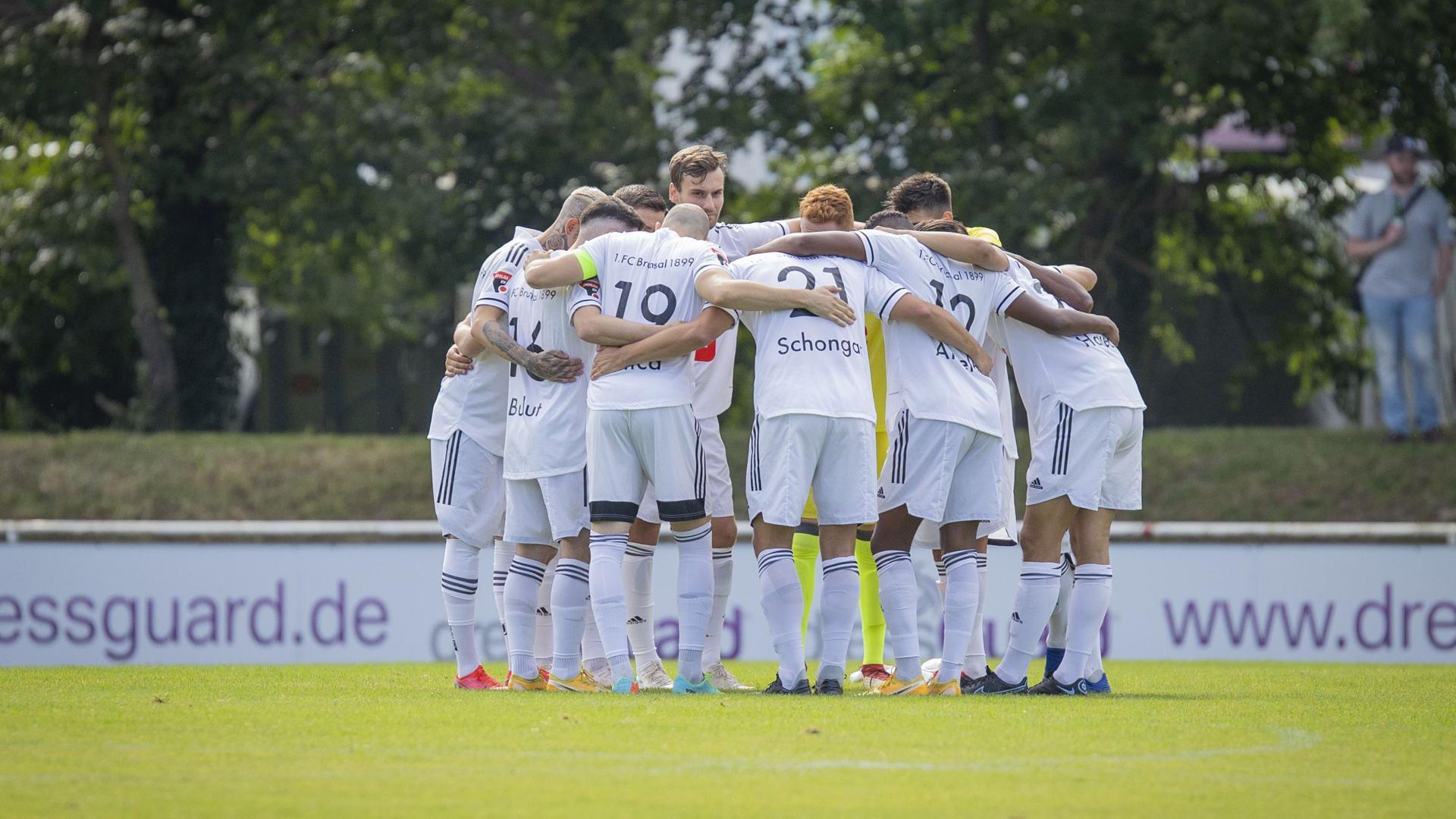 Zusammenhalt als Stärke: Wie schon im Vorjahr will der 1. FC Bruchsal sein Heil in einer geschlossenen Mannschaftsleistung suchen. Denn die Konkurrenz in der Oberliga hat es in sich.