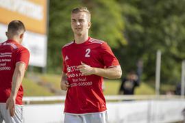 In Bruchsal angekommen: Max Kias fühlt sich nach Stationen bei Profivereinen auch in der eine Nummer kleineren Oberliga wohl.