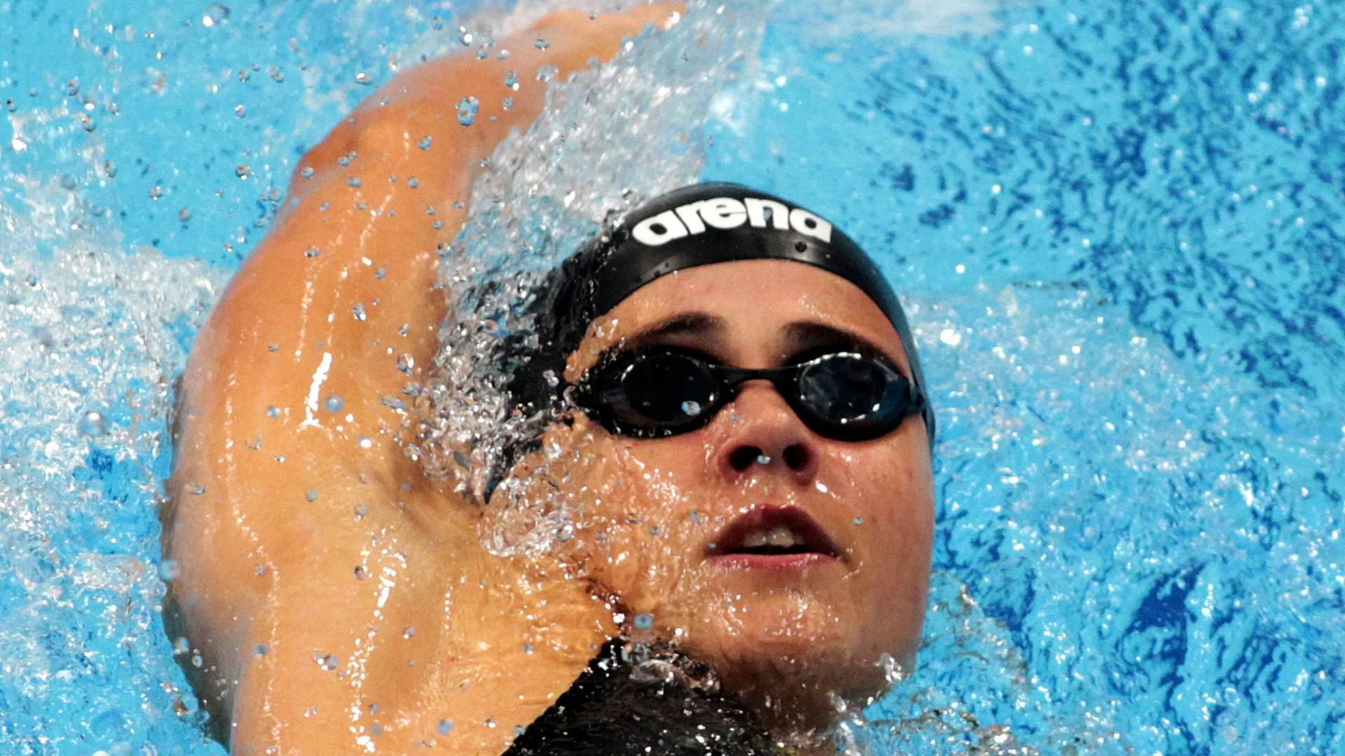 22.08.2019 Budapest(Hungary) 7fth FINA World Junior Swimming championships women s 200m backstroke Giulia Goerigk Germany : PUBLICATIONxNOTxINxSER