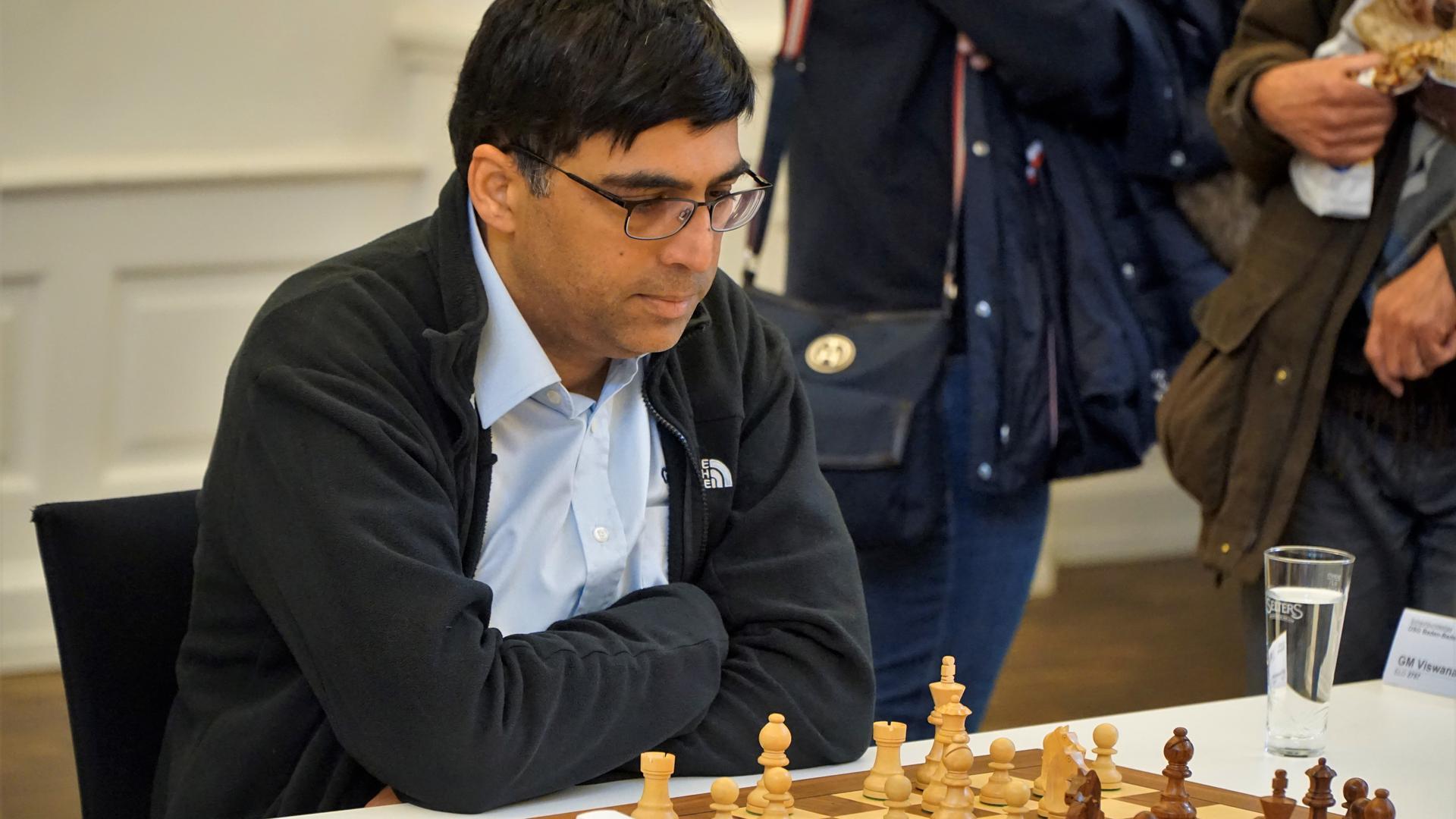 9 Dez 19 Schach Bundesliga Baden Baden Viswanathan Anand 4