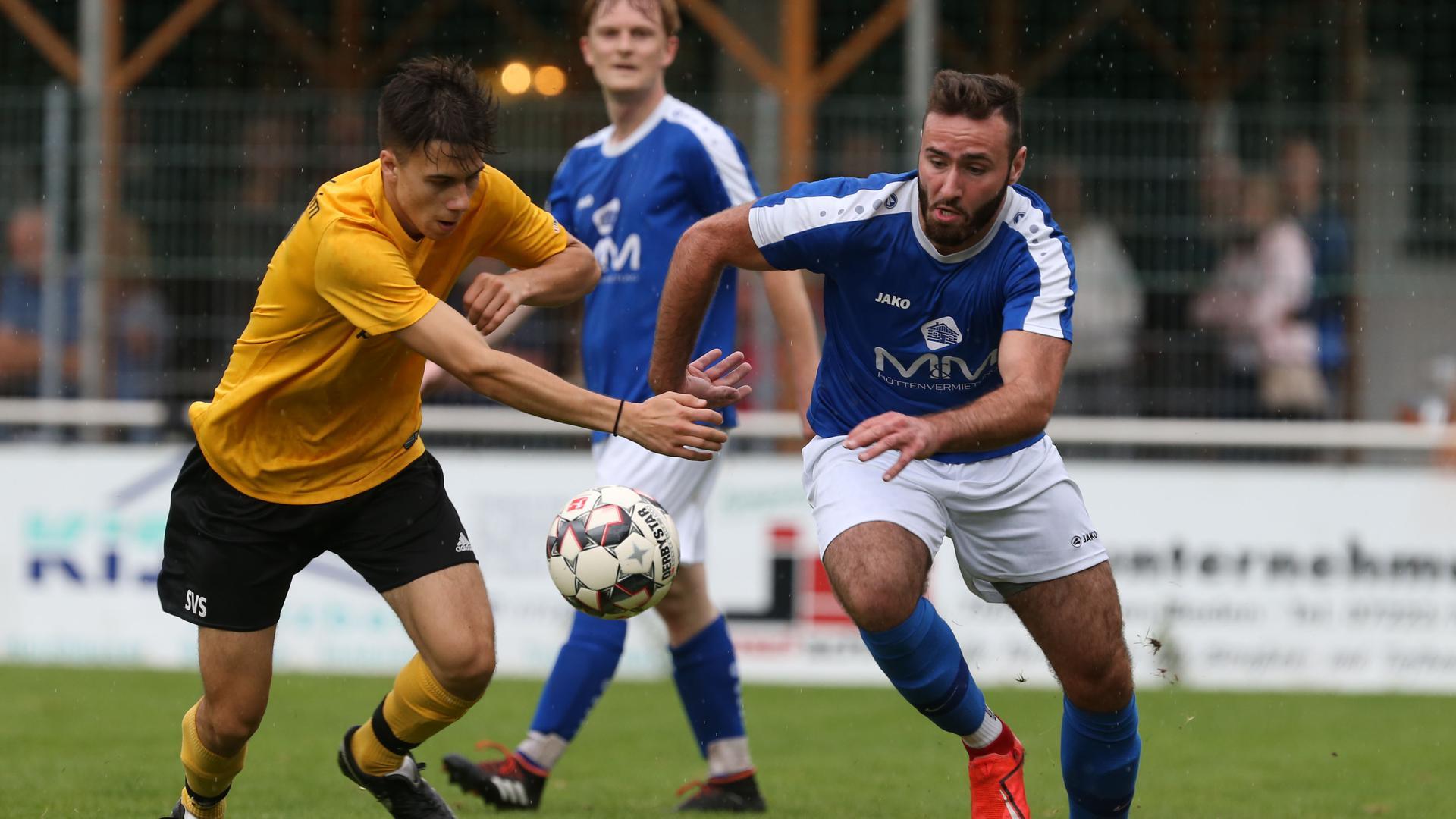 Aufstieg als Saisonziel: Patrick Kist (rechts) und der FC Neuweier streben in der Kreisliga B2 einen der Top-Plätze an. In der vergangenen Saison erreichte Neuweier den dritten Platz.
