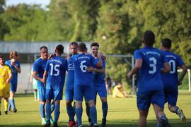 Gut in Form: Die Mannschaft des FV Gondelsheim beim Sieg im Brettener Stadtpokal 2021.