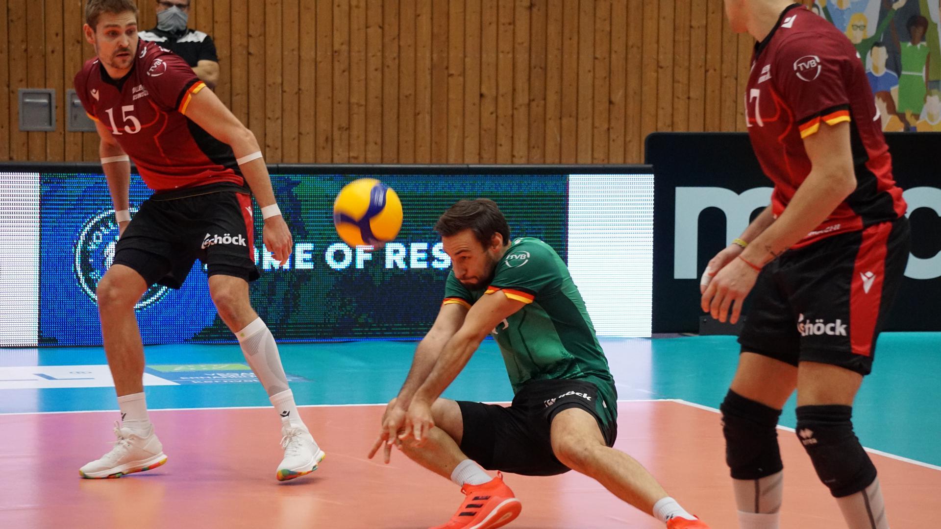 Volleyball-Bundesliga 2020/21, Netzhoppers Königs Wusterhausen - Bisons Bühl 1:3
