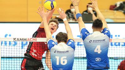 Volleyball-Bundesliga 2020/21, Bisons Bühl - VfB Friedrichshafen, 21.1.2021