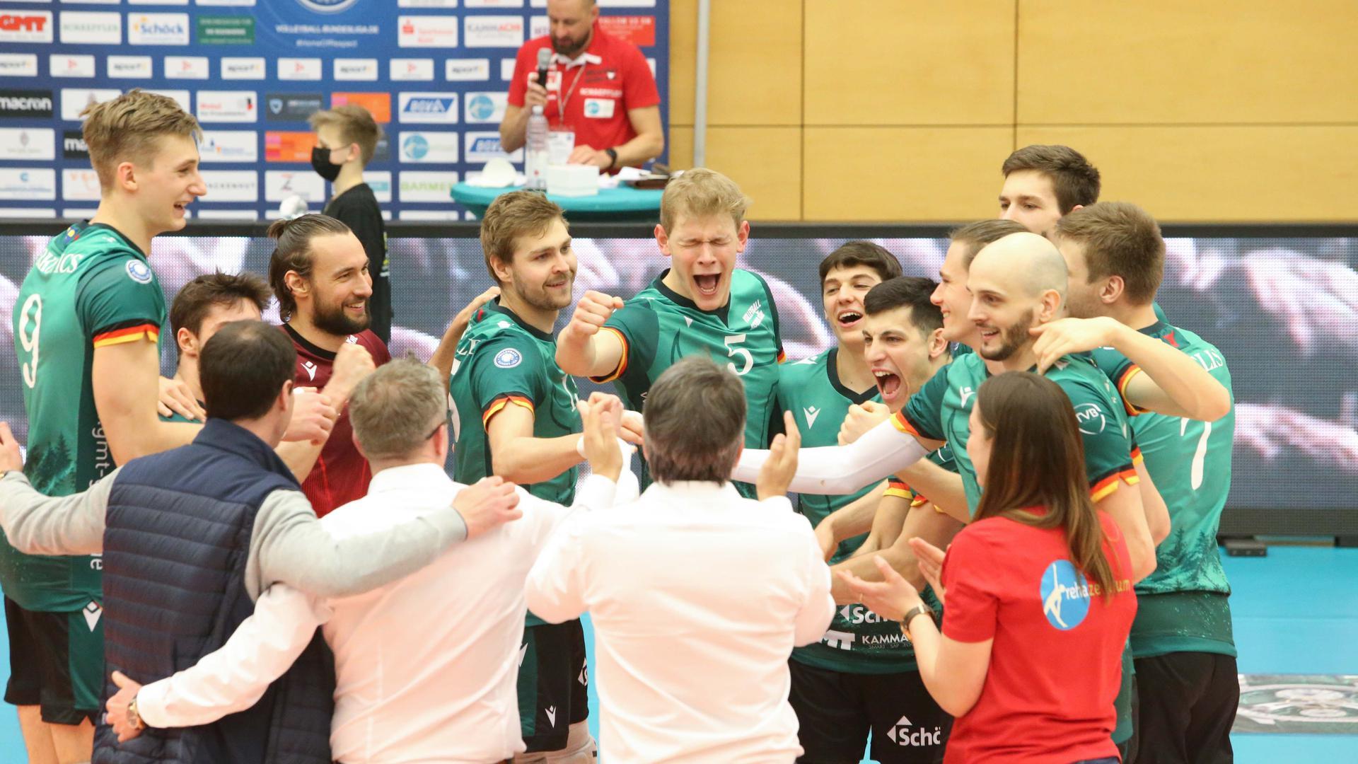 Volleyball-Bundesliga 2020/21, Bisons Bühl - United Volleys Frankfurt (3:1), 6. März 2021