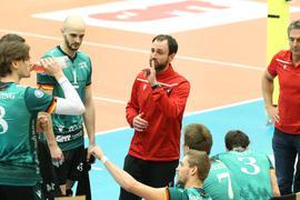 Volleyball-Bundesliga 2020/21, Bisons Bühl mit Cheftrainer Alejandro Kolevich