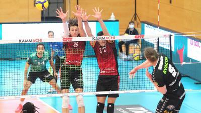 Volleyball-Bundesliga 2020/21, Bisons Bühl - Grizzlys Giesen, 2:3 (21.11.2020)