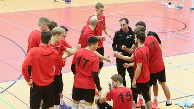 Volleyball-Bundesligist Bisons Bühl während der Vorbereitung auf die Saison 2020/21