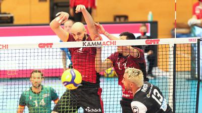 Volleyball-Bundesliga 2020/21, Bisons Bühl - Berlin Volleys, 31.10.2020