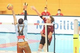 Volleyball-Bundesliga 2020/21: Bisons Bühl - Volleys Herrsching 0:3, 6.2.2021