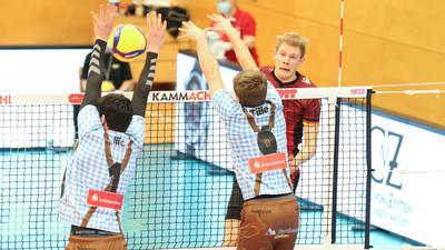 Volleyball-Bundesliga 2020/21, Bisons Bühl - Volleys Herrsching, 6.2.2021