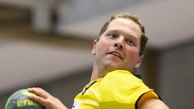 Benjamin Borrmann.  GES/ Handball/ TV Knielingen - Spielerportrait, 15.09.2020 --