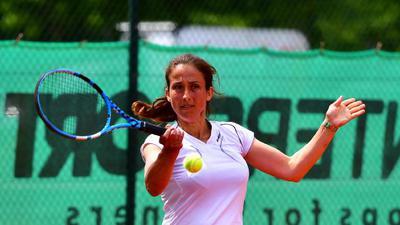 Adriana Copur (PSK)  GES/ Tennis Regionalliga Suedwest Damen: PSK Karlsruhe - SC SaFo Frankfurt, 10.05.2019