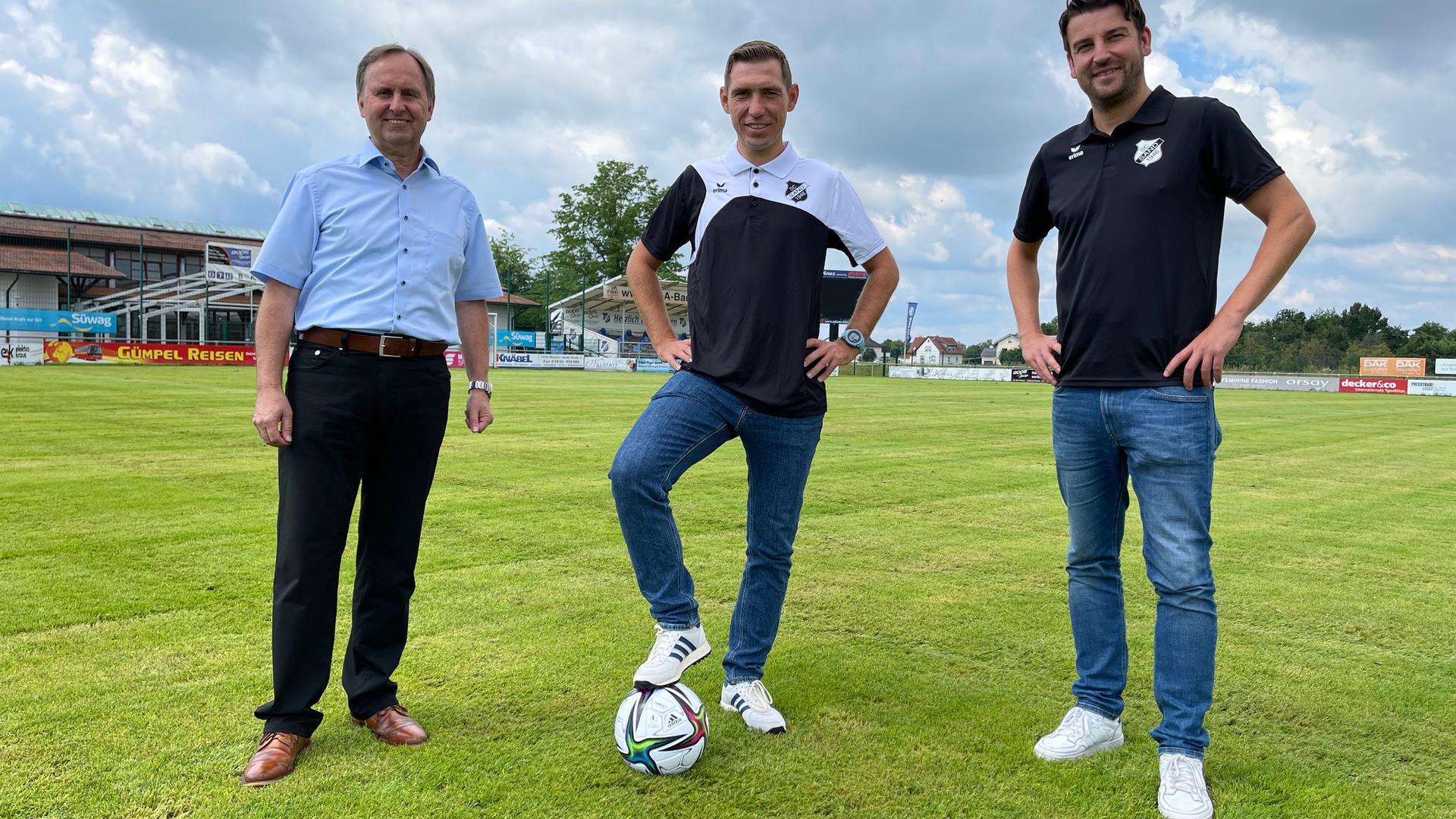 Gerald Jungmann (Manager), Matthias Frieböse, Sascha Reiß (Sportlicher Leiter)
