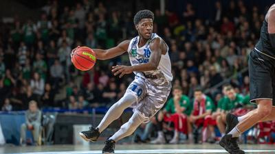 KC Ross-Miller (Lions)  GES/ Basketball/ ProA: PSK Lions - Gladiators Trier, 04.01.2020 --
