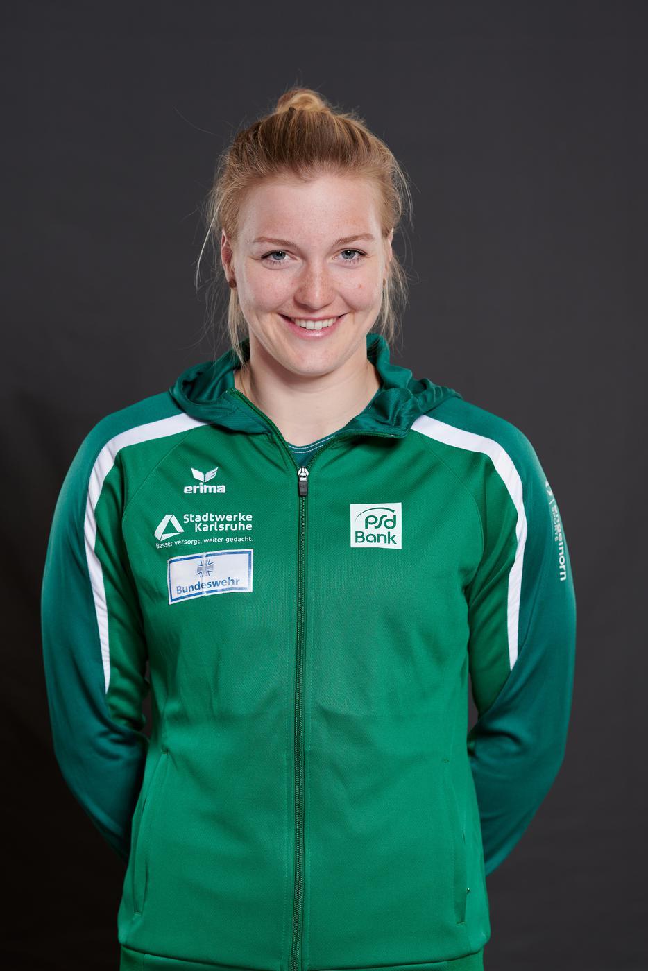 Sarah Brüßler, Kajakfahrerin der Rheinbrüder Karlsruhe