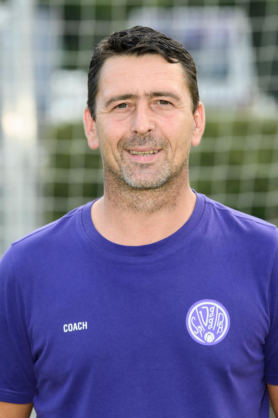 Daniel Kreuzer, Trainer Spvgg Durlach-Aue.