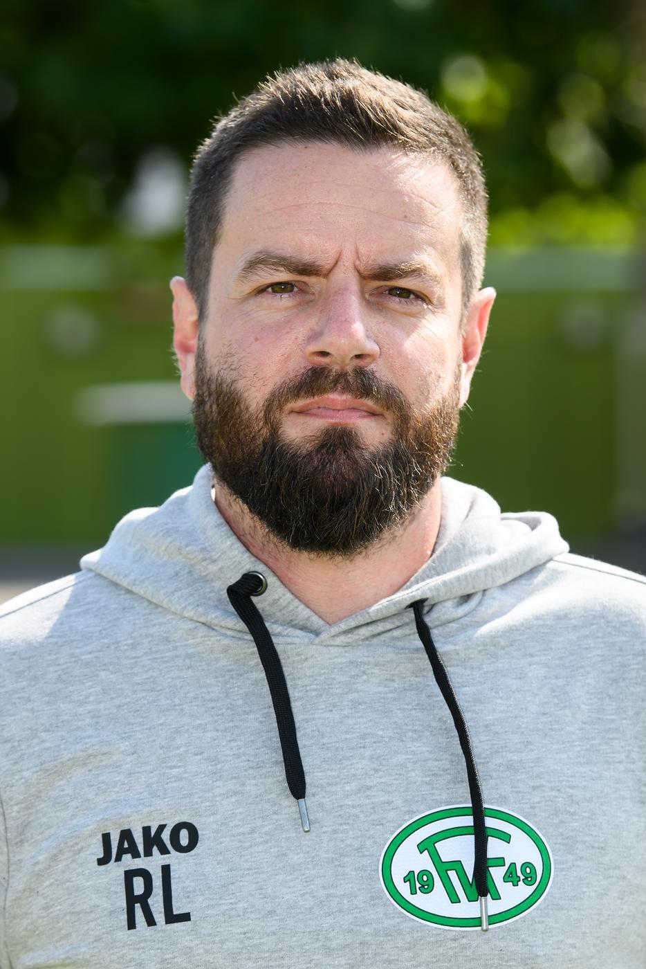 Rouwen Lang, Trainer von Fortuna Kirchfeld.