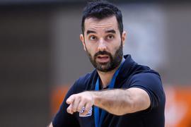 Trainer Aleksandar Scepanovic (Lions).  GES/ Basketball/ ProA: PSK Lions - Training, 30.08.2021 --