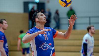 Seyar Rahmani (TSG Blankenloch)   GES/ Volleyball/ TSG Blankenloch 15.02.2020 --