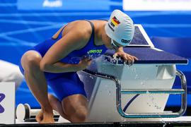 SWIMMING - LEN European Championships BUDAPEST,HUNGARY,17.MAY.21 - SWIMMING - LEN European Championships, 400m individual medley, women. Image shows Giulia Goerigk GER. PUBLICATIONxNOTxINxAUTxSUIxSWE GEPAxpictures/xPhilippxBrem