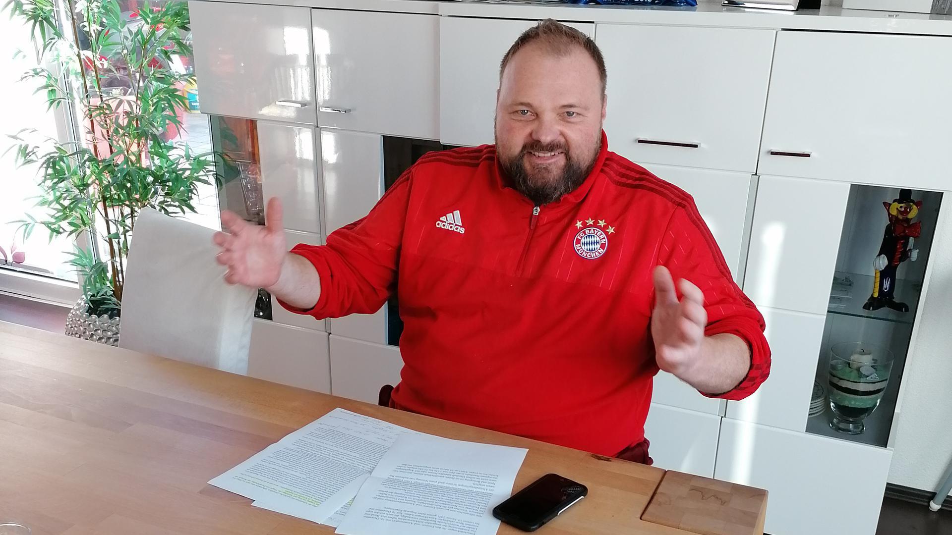 Stefan Moch, Kreisjugendleiter Sportkreis Bruchsal