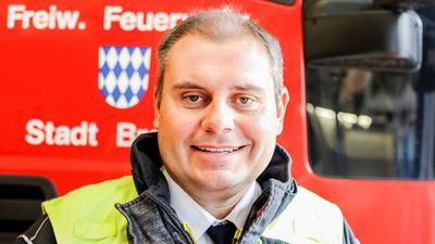 Oliver Haas, Feuerwehr Bretten