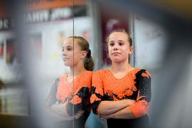 Neu im Team der KRK: Die 13 Jahre junge Turnerin Chiara Moiszi aus dem südbadischen Herbolzheim steht vor ihrer Bundesligapremiere.