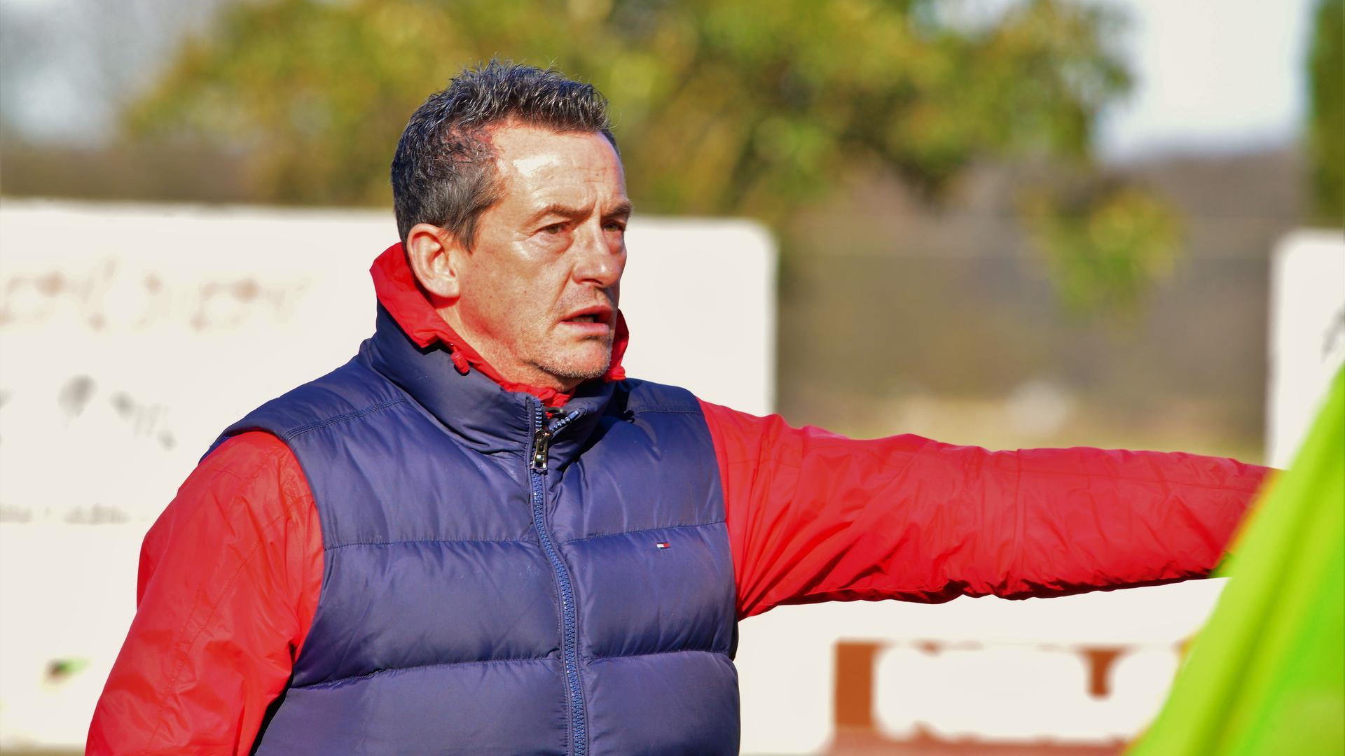 Thomas Leberer, Trainer SV Linx, Fußball-Oberliga
