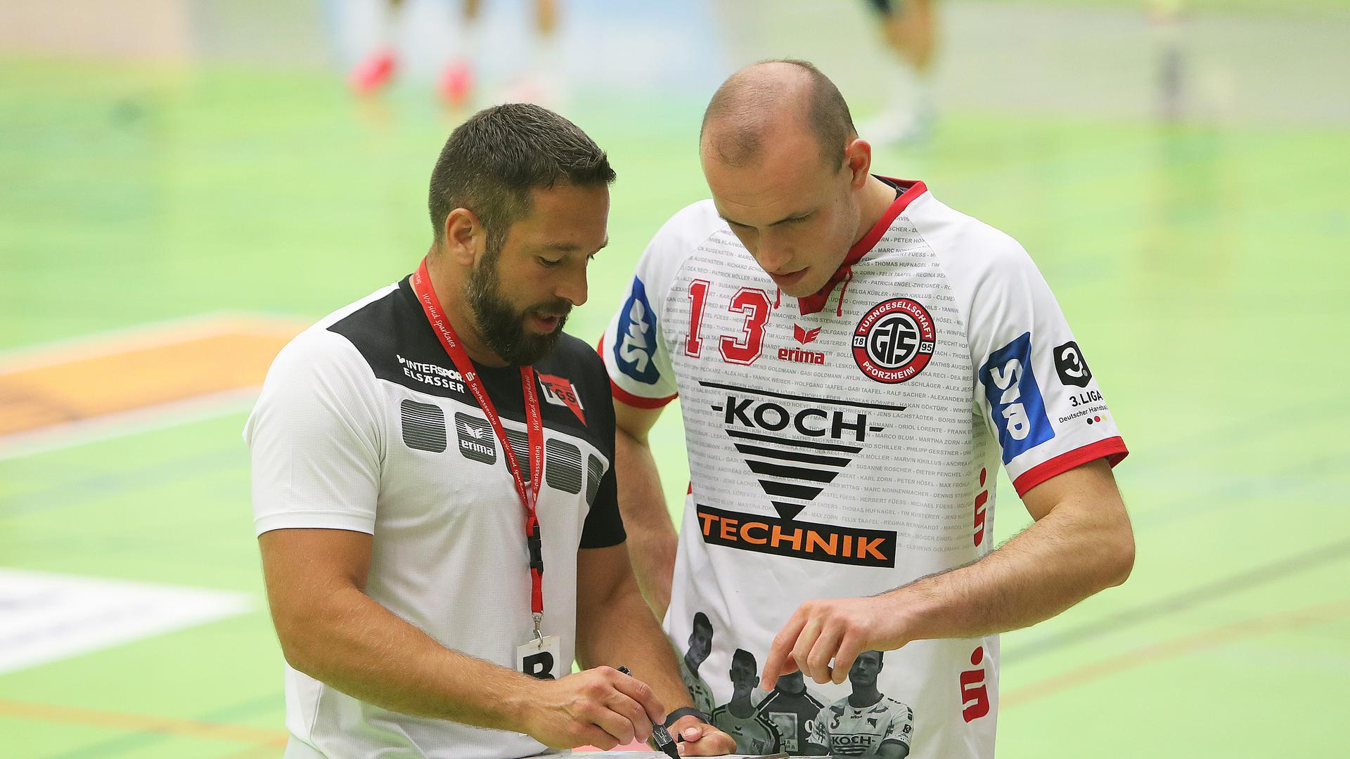 Müller Tobias Trainer_Blum Raphael_TGS Pforzheim