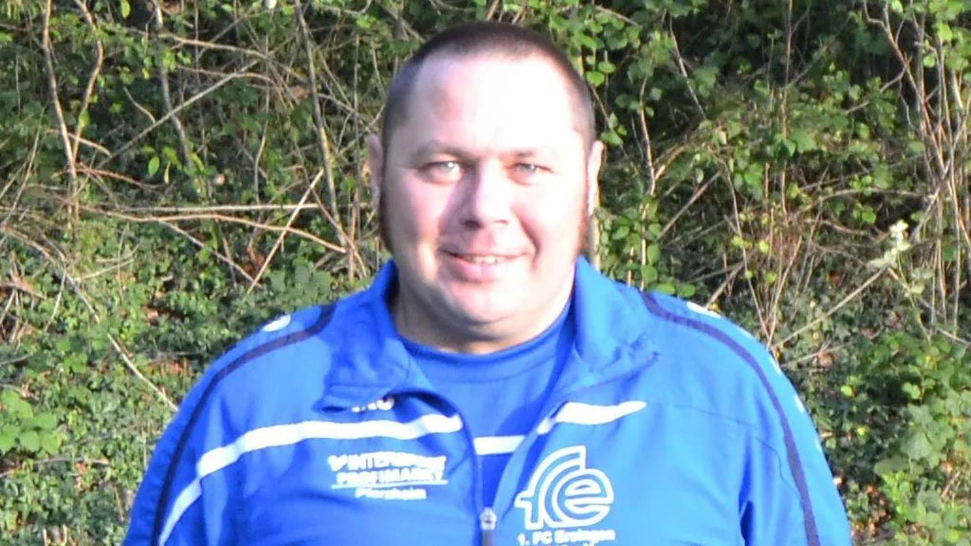 Mit Herzblut dabei: Michael Reiling, Trainer der ersten Frauenmannschaft des FC Ersingen