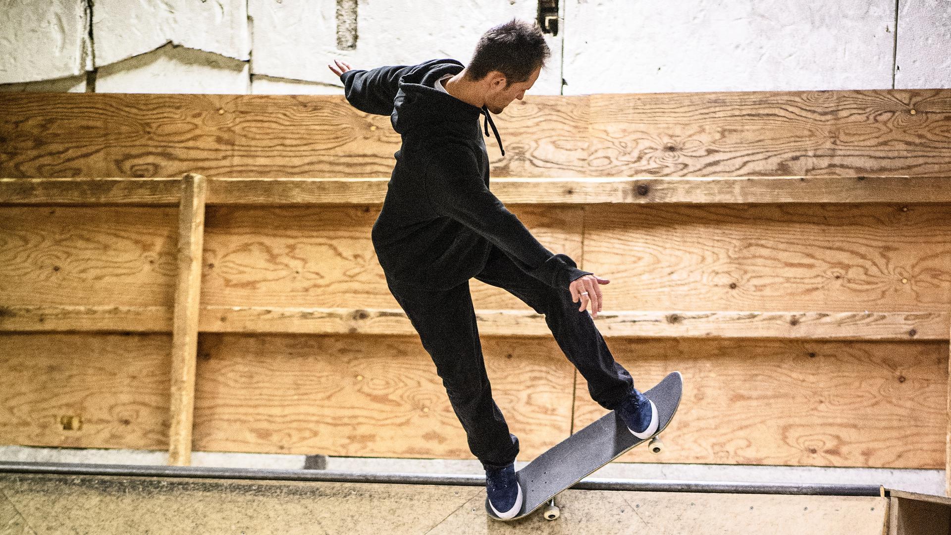 GES/ Skaten/ Alex Mizurov, Skateboarder,  09.01.2020