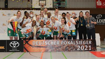 Rutronik Stars Keltern Deutscher Pokalsieger 2021