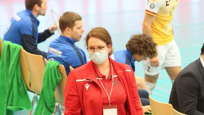Ina Schultz, Teammanagerin beim Volleyball-Bundesligisten Bisons Bühl