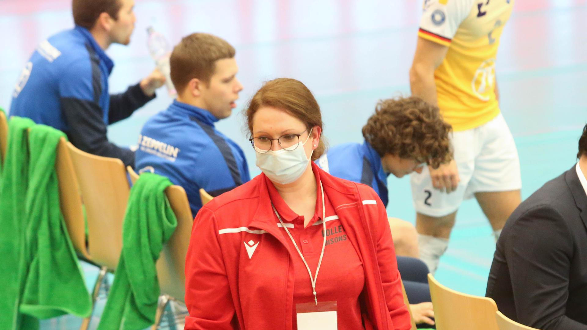 Ina Schultz, Teammanagerin beim Volleyball-Bundesligisten Bisons Bühl