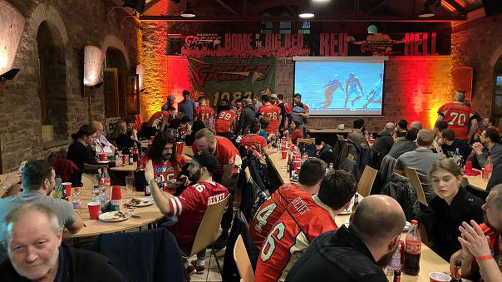 02.02.2020 Super Bowl Veranstaltung in der Höpfner Burg mit den Badener Greifs