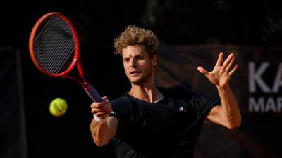 Yannick Hanfmann.  GES/ Tennis/ Team Challenge Rueppurr, 16.09.2020  Tennis: Team Challenge TCR, Rueppurr, September 16, 2020