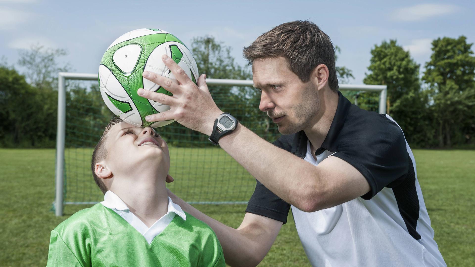 Kopfball, Training, Jugend, Fußball