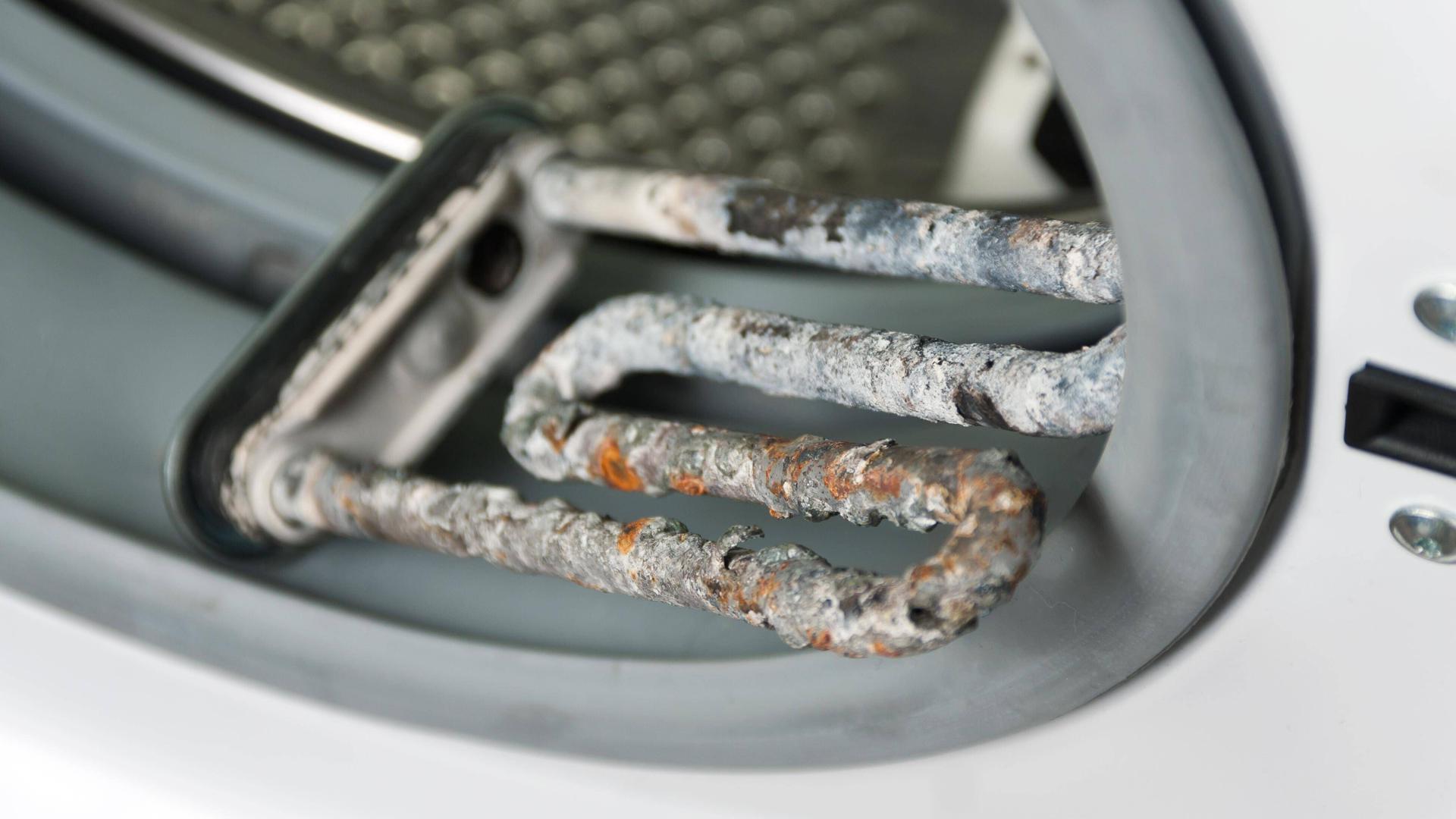 Defekte Waschmaschine / Kalk
