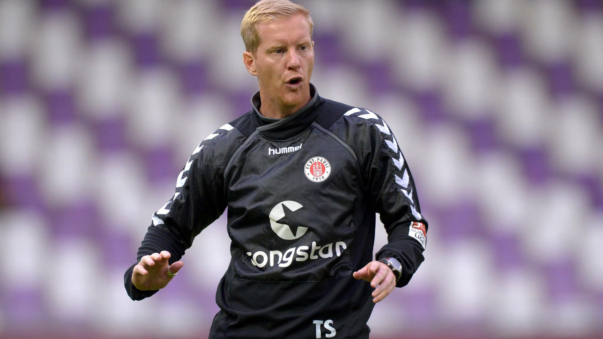 Timo Schultz ist der neue Cheftrainer des FC St. Pauli.