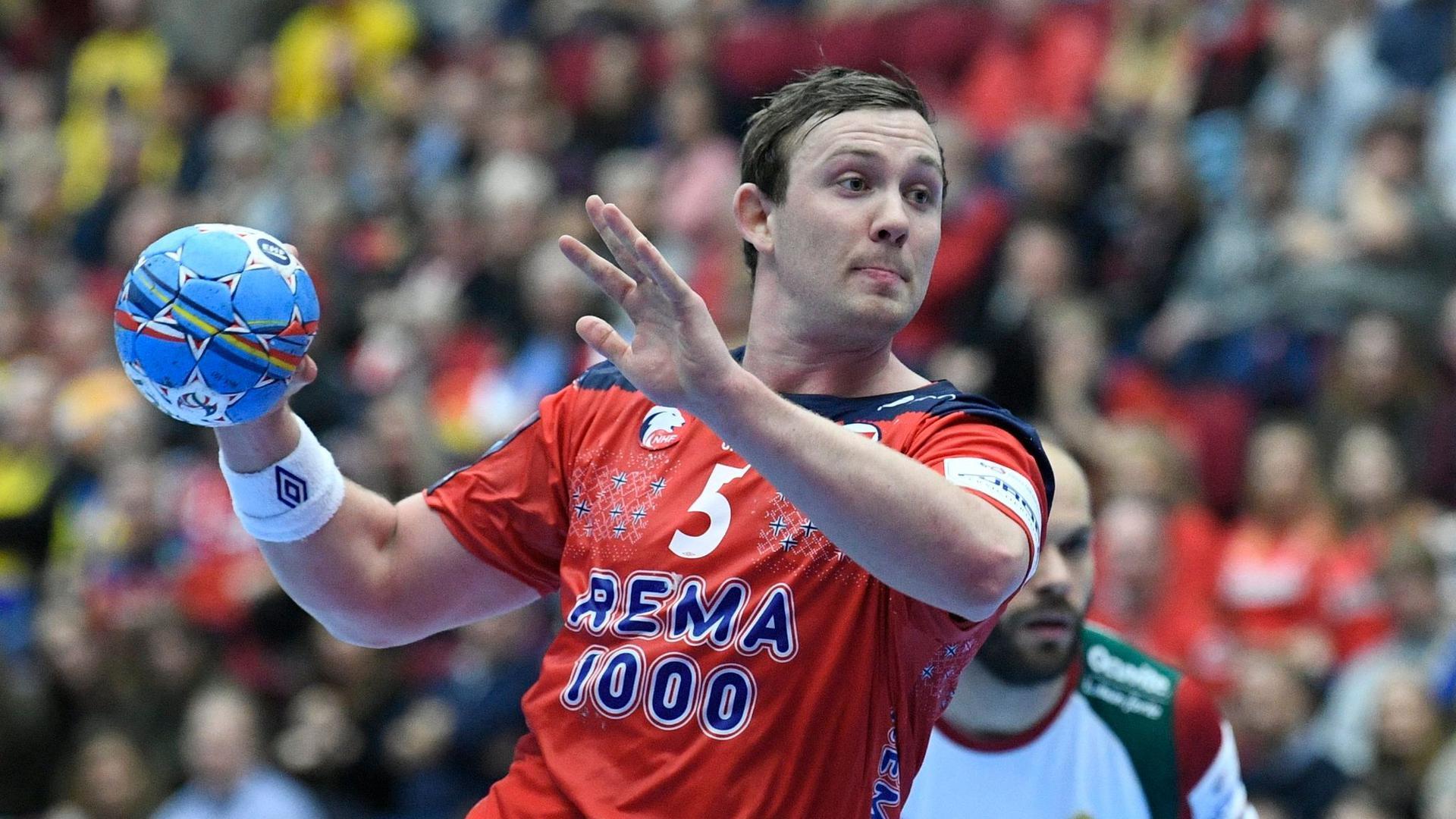 Will endlich wieder Handball spielen: Der Norweger Sander Sagosen.